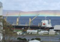 rainbow over princess Royal Harbour